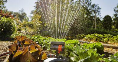 Nuovi irrigatori oscillanti Gardena