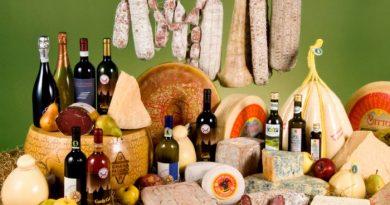 Ora in pegno vini, salumi e formaggi